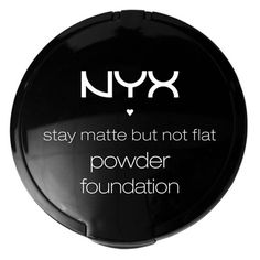 Late night post! A NYX review http://allthingslady.wordpress.com/2013/10/05/stay-matte-but-not-flat-powder-foundation-nyx/