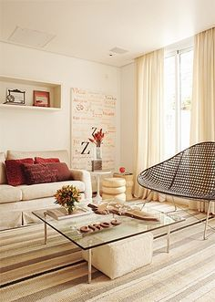 Como clarear, aumentar, iluminar,ventilar e economizar decorando sua casa