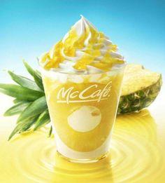 Sundae Ananas au Mac Café #MacDonaldS #Japon