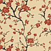 FLOWERING BRANCH SILK - Red - Shop By Color - Fabric - Calico Corners $18