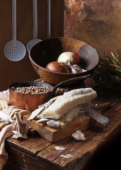 Codfish, chickpeas & onions by El Oso con Botas