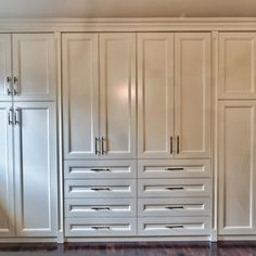 Room Closet Design Ideas, Pictures, Remodel, and Decor - page 3 Bedroom Closet Design, Bedroom Wardrobe, Built In Wardrobe, Closet Designs, Basement Designs, Basement Ideas, Master Bedroom, Closet Built Ins, Sliding Wardrobe