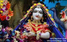 To view Radha Close Up Wallpaper of ISKCON Chowpatty in difference sizes visit - http://harekrishnawallpapers.com/srimati-radharani-close-up-wallpaper-039/