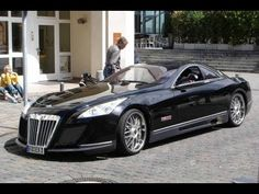 This is the Maybach Excelero, a 700 horse power concept car that costs a mere $8,000,000.