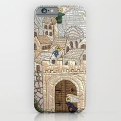 Flying angels iPhone & iPod Case