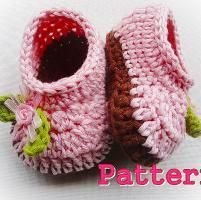 Crocheting: Cuteness Baby Slippers Crochet Pattern