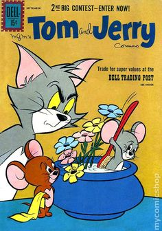 Tom and Jerry (1949 Dell/Gold Key) 206