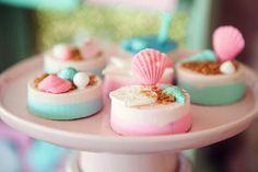 Seashell Cookies via Kara's Party Ideas | KarasPartyIdeas.com