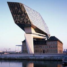 Zaha+Hadid's+Port+House+in+Antwerp+captured+in+photography+by+Hélène+Binet