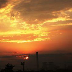 Industrial sunrise 1