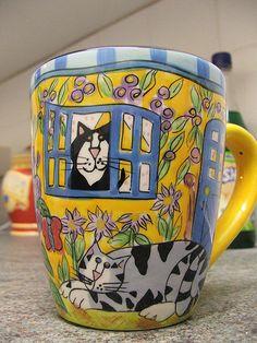 Cat Mug... I really like this mug