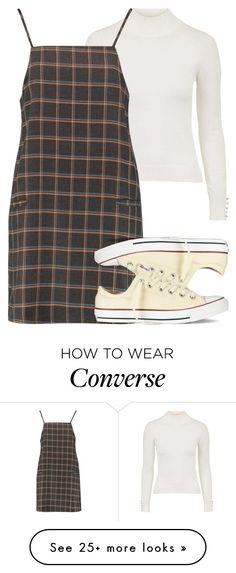 """low creme cons - jerrie insp"" by littlemixmakeup on Polyvore featuring Topshop, Boohoo and Converse"