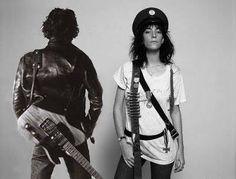 Bruce Springsteen & Patti Smith