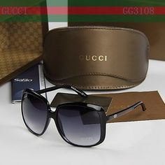 Sun glasses but not just any brand of sunglasses its Gucci