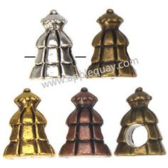 Zinc Alloy Tree Beads,Plated,Cadmium And Lead Free,Various Color For Choice,Approx 11*14.5mm,Hole:Approx 4.5mm,Sold By Bags,No 003232