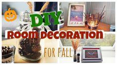 Room Inspiration & DIY Decoration for Fall