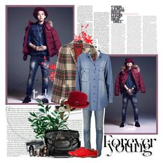 """G-Dragon"" by rainie-minnie ❤ liked on Polyvore featuring Stop Staring!, Gucci, rag & bone, Dr. Denim, Mulberry, Noel Stewart, Miss Me, J.Crew, Laura Mercier and Hollister Co."