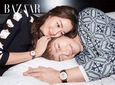 Newlyweds Rain & Kim Tae Hee Cover April's Harper's Bazaar | Couch Kimchi