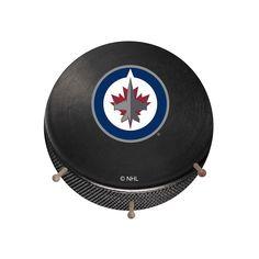 Winnipeg Jets Hockey Puck Coat Hanger, Multicolor