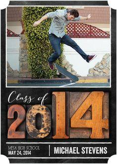 Impressive Tribute - Graduation Announcements - Fine Moments - Camel Brown with ticket trim option #graduation