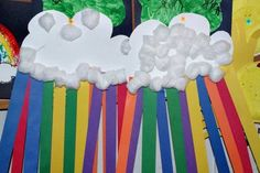 Totally Tots: Crafty Corner ~ Rainbows for our Noah lesson next week