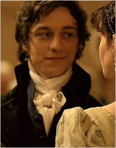 James McAvoy as Tom Lefroy in Becoming Jane Maybe one day i'll remember I want to watch this