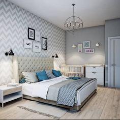 Спальня в скандинавском стиле: Спальни в Скандинавский. Автор - Анна Теклюк