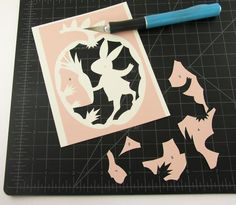 All about the art and craft of paper cutting. Kirigami, Origami Paper, Diy Paper, Paper Crafts, Papier Diy, Do It Yourself Wedding, Card Tutorials, Diy Art, Paper Cutting