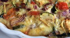Cottage cheese met ei en groenten uit de oven is een lekker koolhydraatarm gerecht. Ook geschikt voor vegetariers. Benieuwd naar het recept? Klik hier.