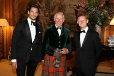 Campaign for Wool ‏@Campaignforwool HRH The Prince of Wales, @marksandspencer CEO Steve Rowe,@DGandyOfficial ahead of the Dumfries House Wool Conference
