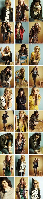fashion editorial posing