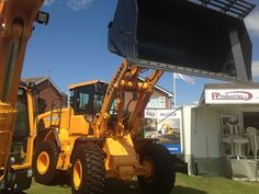 EP Industries at the Great Yorkshire Show with Hyundai's new HL955 Wheeled Loader