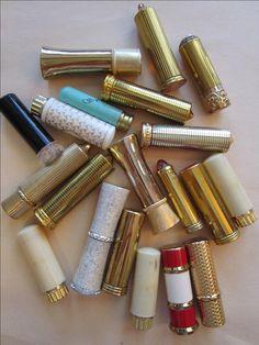 Vintage Lipstick Tubes | Like this item?                                                                                                                                                                                 More