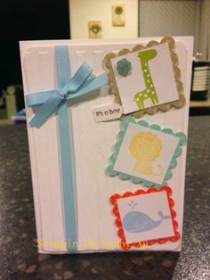 baby boy cards