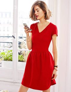 Esprit collection robe rouge