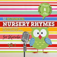 Cover of album 50 Instrumental Nursery Rhymes for Karaoke Vol. 1 Kids Nursery Rhymes, Rhymes For Kids, Birthday Songs, Birthday Gifts, Karaoke, Happy Birthday Song Download, Song Sheet, Google Play Music, Xmas Party
