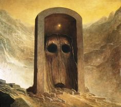The Beautiful and Horrific Artwork of Zdzisław Beksiński - Album on Imgur