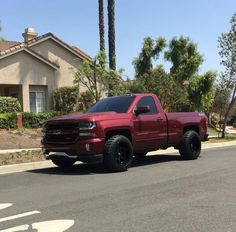 This one car is my dream whip. Custom Chevy Trucks, Chevy Pickup Trucks, Gm Trucks, Chevy Pickups, Chevrolet Trucks, Diesel Trucks, Chevrolet Silverado, Cool Trucks, Dropped Trucks
