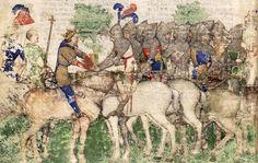 BNF Français 343 Queste del Saint Graal / Tristan de Léonois