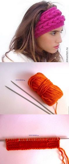 1saç bandı Knitted Hats, Crochet Hats, Lucet, Tatting, Accessories, Fashion, Knit Vest, Knitting Patterns, Long Scarf