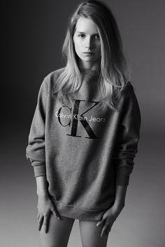 Calvin Klein CK Jeans Advertisement 2014 - Lottie Moss by Michael Avedon Jeans Calvin Klein, Calvin Klein Models, Calvin Klein Jumper, Ck Jeans, Vogue Uk, Sonia Rykiel, Cara Delevingne, Kate Moss Sister, Vanity Fair