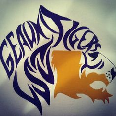 LSU Painted This Geaux Tigers Cant Wait For Football Season