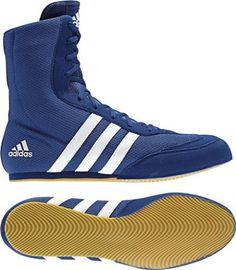 Adidas Blue Box Hog Boxing Shoes | eBay