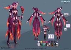 ArtStation - Phoenix Witch , Katya Cyan