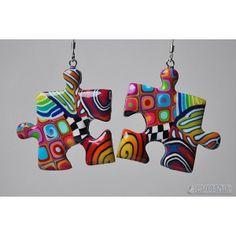 Tips A Jewelry Party Ektu Dekha - - Tips A Jewelry Party Ektu Dekha Besondere # Tipps Eine Schmuckparty Ektu Dekha Paper Earrings, Paper Jewelry, Diy Earrings, Polymer Clay Jewelry, Jewelry Crafts, Beaded Jewelry, Key Jewelry, Jewellery, Puzzle Piece Crafts
