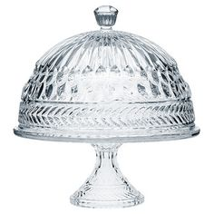 <strong>Godinger Silver Art Co</strong> Symphony Cake Stand