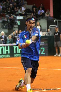 #Tennis - Coppa Davis #Torino. Fabio #Fognini