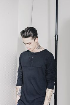 Ash Stymest Models Casual Fashions for Ezekiel Spring 2015 Collection Ash Stymest, Lucky Blue Smith, Male Photography, Clothing Photography, Estilo Rock, Hot Boys, Cute Guys, Pretty Boys, Male Models