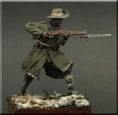 Naik, 1st Bn 39th Garwal Rifles, Festubert 1914. 54mm resin figure from Tommy's War now in stock online! Click the pic for more details