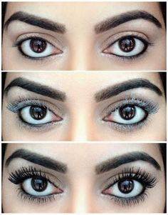 Using Baby Powder to Get Long lashes #long_lashes